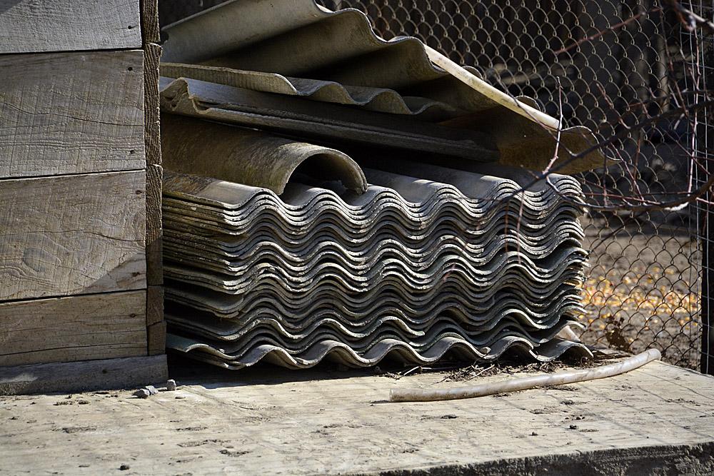 asbest platen