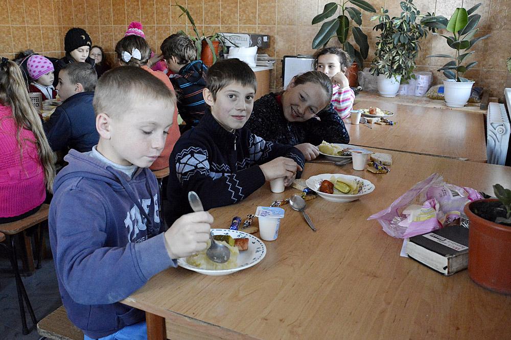 eten in het centrum
