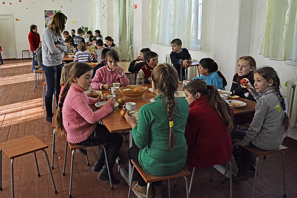 eten op school