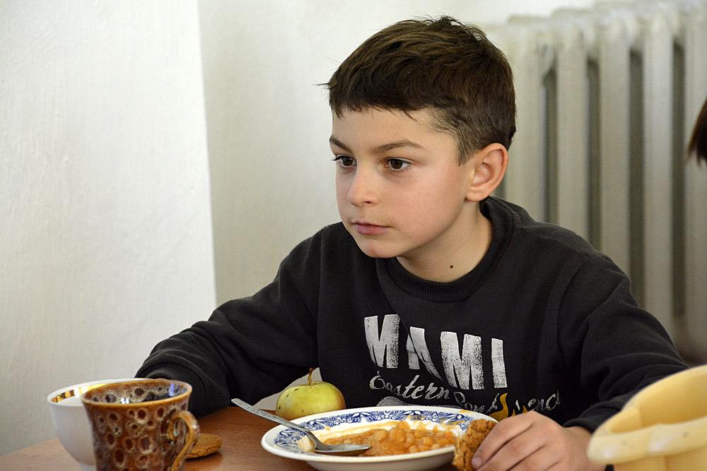etende jonge