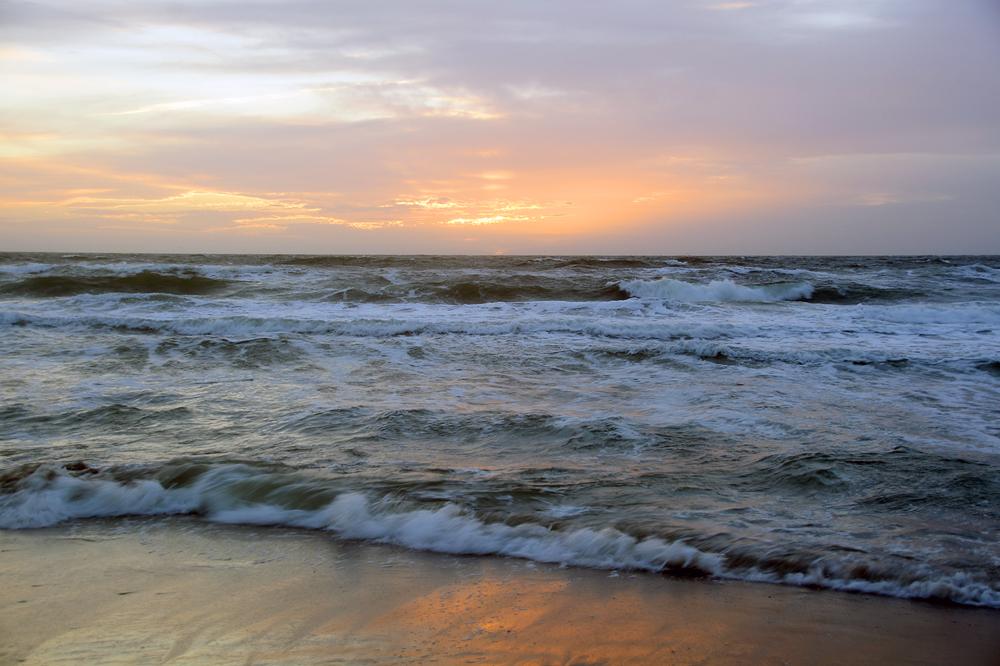 zonsondergang aan zee 3